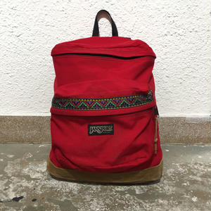 90's JANSPORT Back Pack  RED