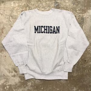 90's Champion REVERSE WEAVE Sweat Shirt MICHIGAN XL