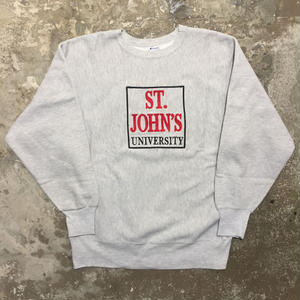 90's Champion REVERSE WEAVE Sweat Shirt ST.JOHN'S.U SIZE:XL
