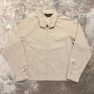~70's Oakbrook Sportswear Permanent Press Swing Top BEIGE