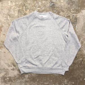 80's BASSETT WALKER  Plain Sweatshirt