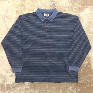 90's FADED GLORY L/S Polo Shirt