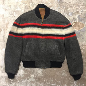 60's CAMPUS Wool Reversible Jacket