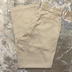 90's Dickies Work Pants KHAKI  W : 34  #1