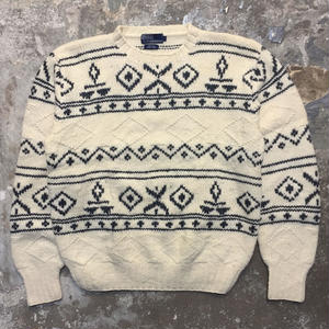 Polo Ralph Lauren  Hand Knit Wool Sweater