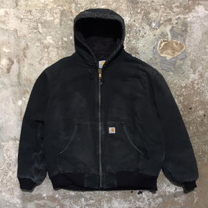 Carhartt Quilted Flannel Lined Active Jacket BLACK #1