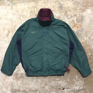 90's Columbia Nylon Jacket GREEN×PURPLE