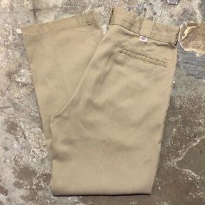 80's Dickies Work Pants KHAKI  W : 34 #2