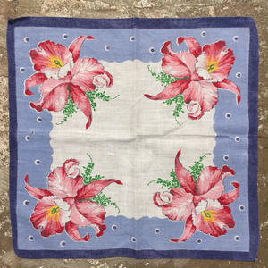 Flower Printed  Handkerchief  #5