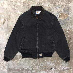 80's Carhartt Santa Fe Jacket BLACK