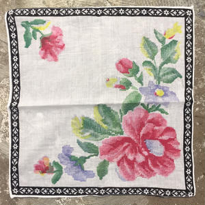 Flower Printed  Handkerchief  #6