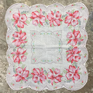 Flower Printed  Handkerchief  #1