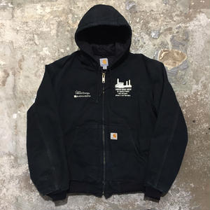 Carhartt Quilted Flannel Lined Active Jacket BLACK