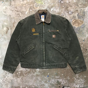 90's Carhartt Detroit Jacket GREEN
