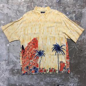 puritan Rayon Aloha Shirt YELLOW