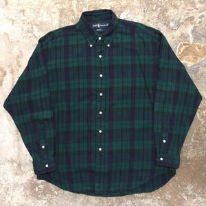 Ralph Lauren L/S Cotton B.D Shirt BLACKWATCH