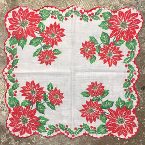 Flower Printed  Handkerchief  #4