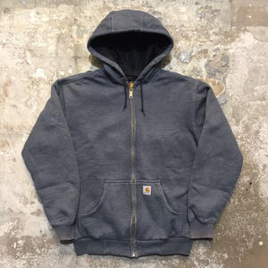 90's~ Carhartt Zip Hooded Sweat Jacket