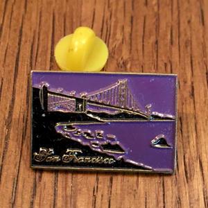 SAN FRANCISCO G. G. Bridge Pins
