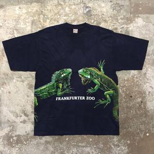 90's~  Iguana Printed Tee
