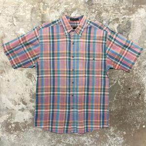 ~90's Eddie Bauer Madras Check Shirt PINK