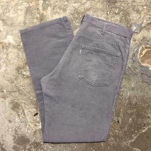 80's Levi's 519 Corduroy Pants GREY