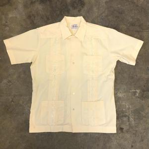 80's Cuba Shirt Yellow