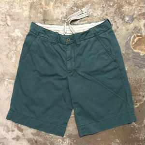 Polo Ralph Lauren Cotton Shorts GREEN W: 30