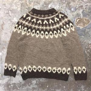 70's~ VIKING Nordic Sweater