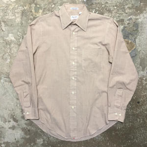 70's Hathaway L/S Plaid Shirt