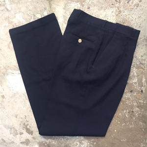 70's~ Simsbury Wool Blend Two Tuck Slacks
