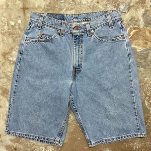 90's Levi's 550 Denim Shorts W : 32