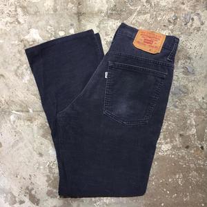 80's Levi's 517 Corduroy Pants NAVY