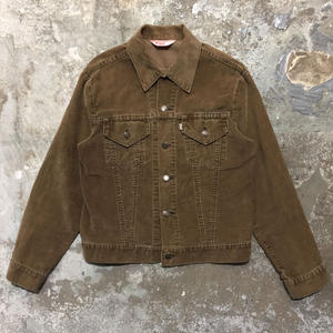 70's Levi's 70505 Corduroy Jacket