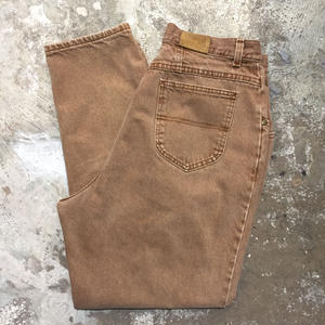 80's L.L.Bean Color Denim Pants