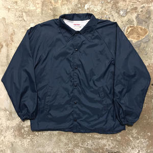 80's HARTWELL Plain Nylon Coach Jacket