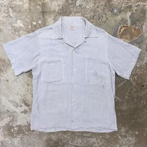 50's ARROW Rayon Open Collar Shirt