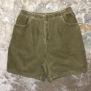 90's Corduroy Easy Shorts KHAKI
