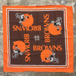 ~90's NFL BROWNS Bandana