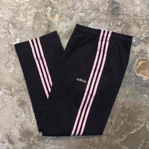 adidas Track Pants BLACK×PINK