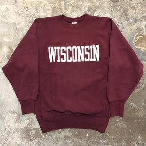 90's Champion REVERSE WEAVE Sweat Shirt WISCONSIN (SIZE : XL)