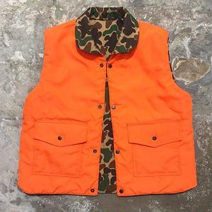 80's Woodland Reversible Padded Vest