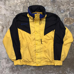Columbia Nylon Jacket YELLOW × BLACK×BLUE