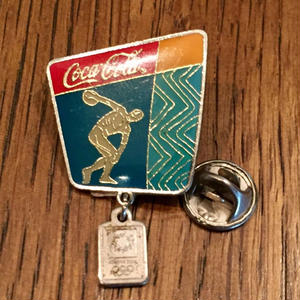 Coca Cola Olympic Pins