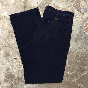 70's~ MAVERICK Corduroy Pants NAVY