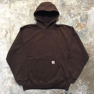Carhartt Hooded Sweatshirt BROWN (SIZE : XL)
