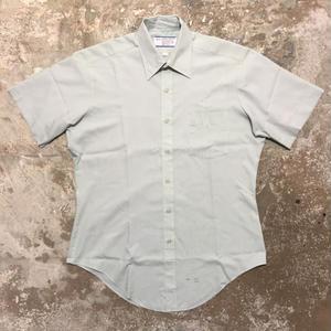 70's Sears PERMA-PREST S/S Shirts BLUE GREEN