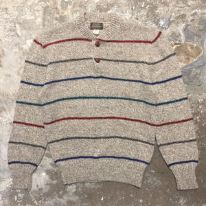 80's HIGH SIERRA Henry Neck Sweater