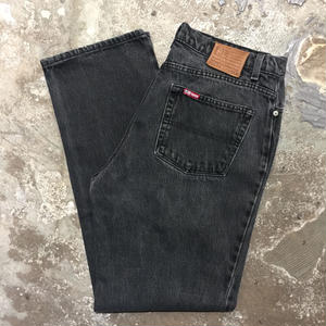 90's Polo Jeans Company Ralph Lauren Black Denim Pants