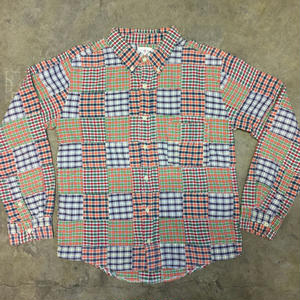 J.CREW Patchwork Shirt